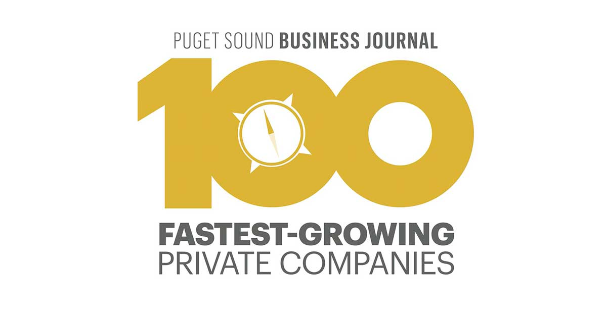 Puget Sound 100 Fastest Growing Private companies