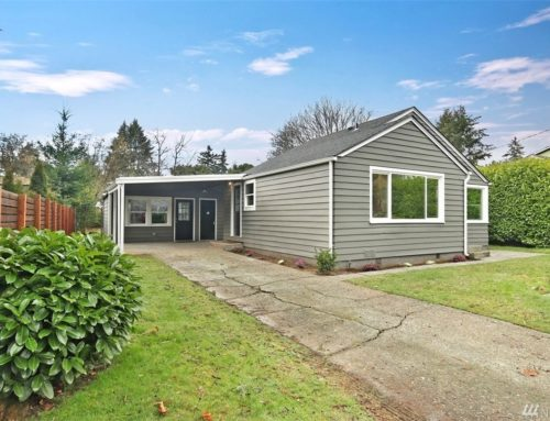 $560,000 Seattle Fix and Flip Loan on 17th Avenue