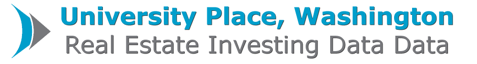 University Place Real Estate Investing Data